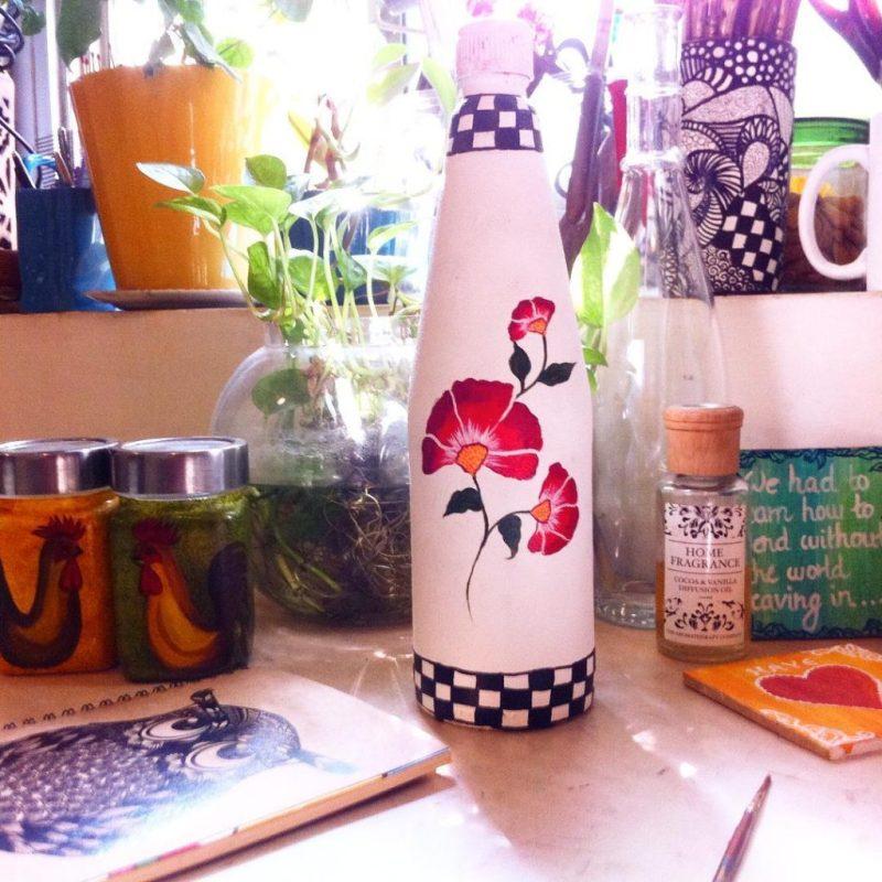 Bottle art by Pyjama Party