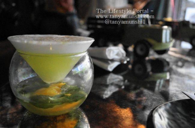 Sip onto a freshly hand crafted Farzi Apple Foamintini