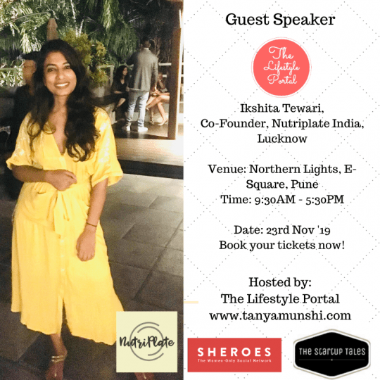 Iksheta Tiware, Co-Founder, Nutriplate India, Lucknow.