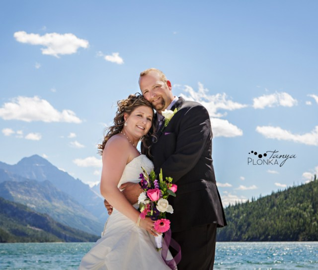 Stacey And Danny Intimate Waterton Mountain Wedding