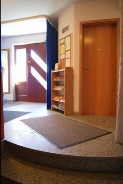 Eingang vom Tanzstudio