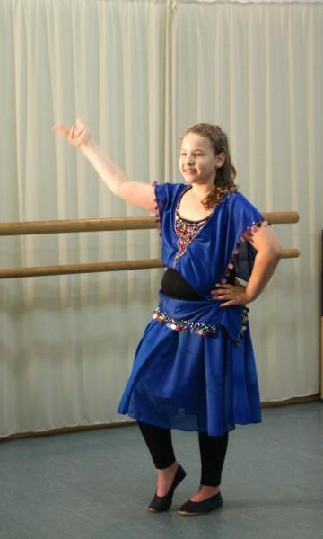 Orientalischer Tanz Kinder