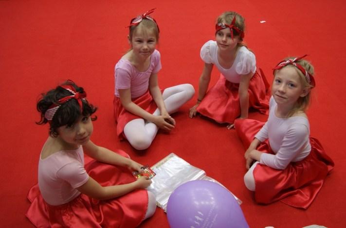 Kindertanz beim 15. Kinder- und Jugendhilfetag