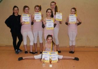 Tanzfestival Bernau 2015 - Kindertanzgruppe Powergirls - 3. Platz und Fanpokal