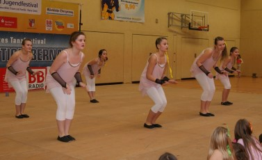 Tanzfestival Bernau 2015 - Kindertanz Powergirls 2