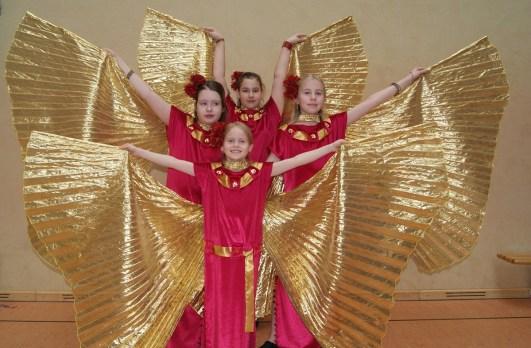 Tanzfestival Bernau 2015 - Oriental- Wüstenblumen Isis Wings 3