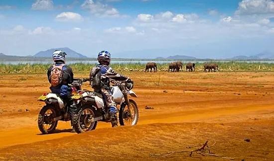 Safari photo Tanzanie voyage Zanzibar.. Randonnées et safari en moto en Tanzanie. Rando moto safari tanzanie