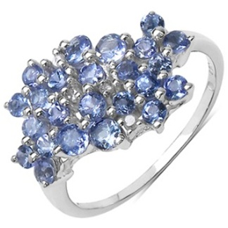 Diamond Tanzanite Ring