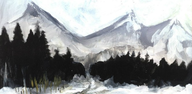 ki.mi. - the first snow
