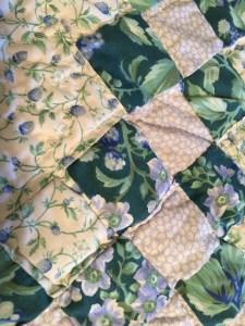 iiimage of quilt detail