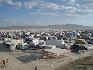 Burning Man camp
