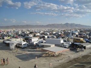 Burning Man camp