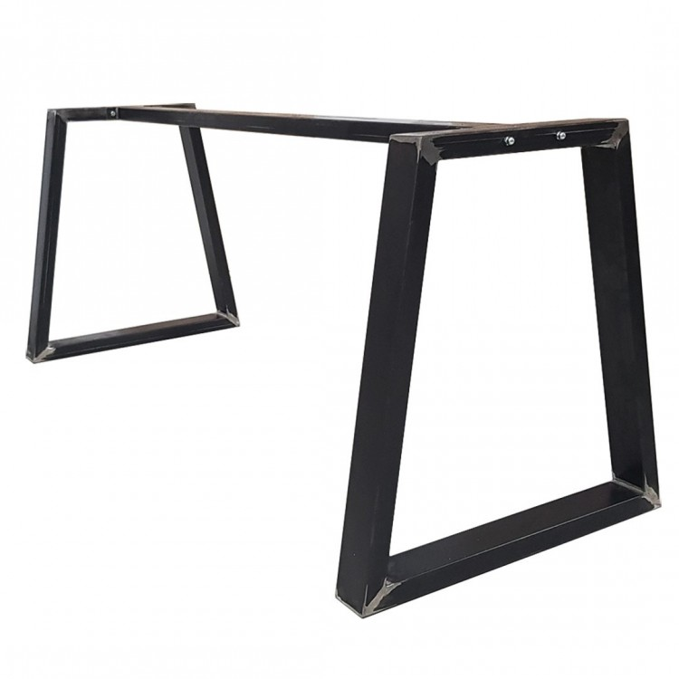 metal table legs with central bar pieds de table avec bar gambe tavolo