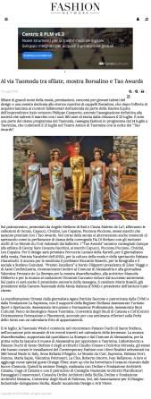 Al via Taomoda tra sfilate, mostra Borsalino e Tao Awards - Notizie -Sfilate (#997996) (2018-07-29 20-20-11)