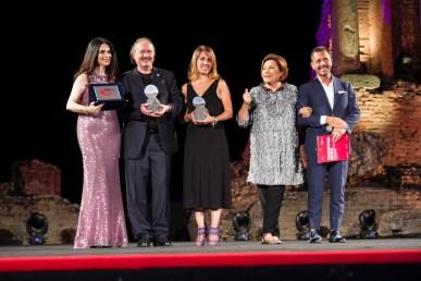 Il sindaco di Alessandria ... e la giornalista Valentina Frezzato per #saveBorsalino premiati dalla giornalista Paola Cacianti