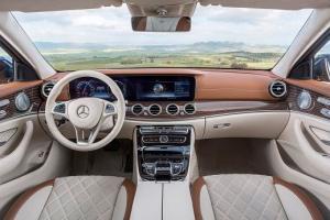 Mercedes-Benz E-Klasse T-Modell, 2016, Interieur: macchiatobeige/sattelbraun ; Mercedes-Benz E-Class Estate, 2016, interior: macchiato beige/saddle brown;