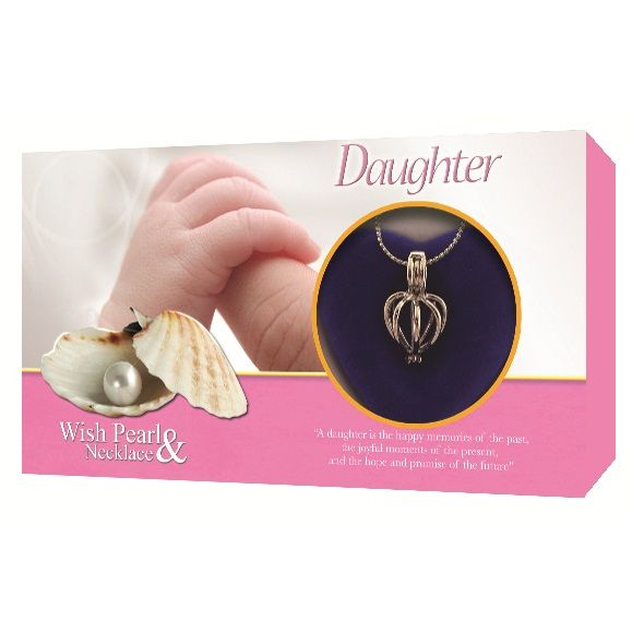 Daughter Make A Wish Love Pearl Amp Necklace Gift Box