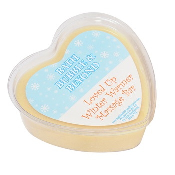 Loved Up winter warmer at TAOS Gifts, edible massage bar, ginger
