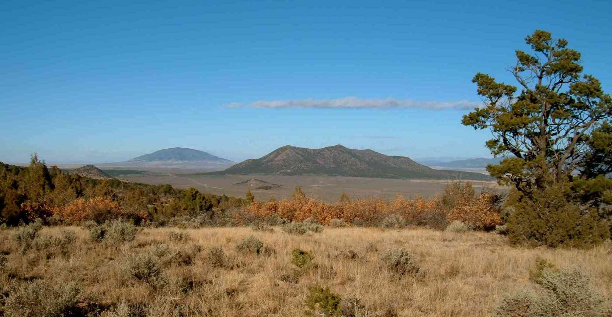 mountain land on Cerro Montoso