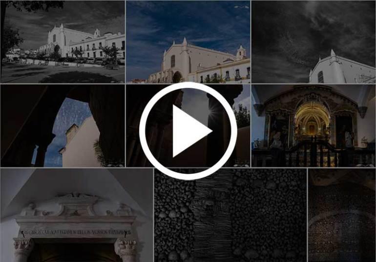 fotografias évora capela ossos