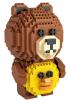 Τουβλάκια Loz αρκουδάκι και παπάκι 700τμχ