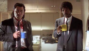 Pulp Fiction John Travolta café