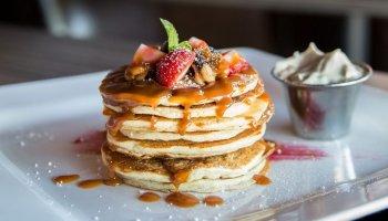 tortitas sin huevo pancakes