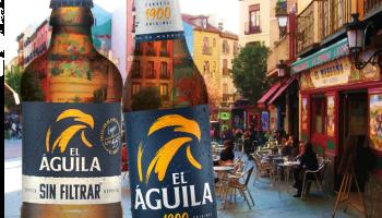 CERVEZA EL ÁGUILA EN MADRID