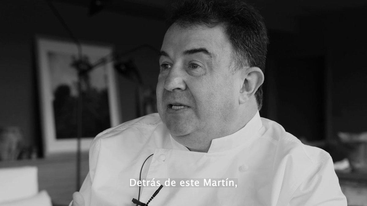 Martín Berasategui cocinero