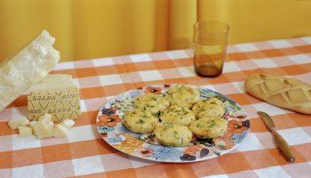 Receta brioche con jamón y queso Grana Padano