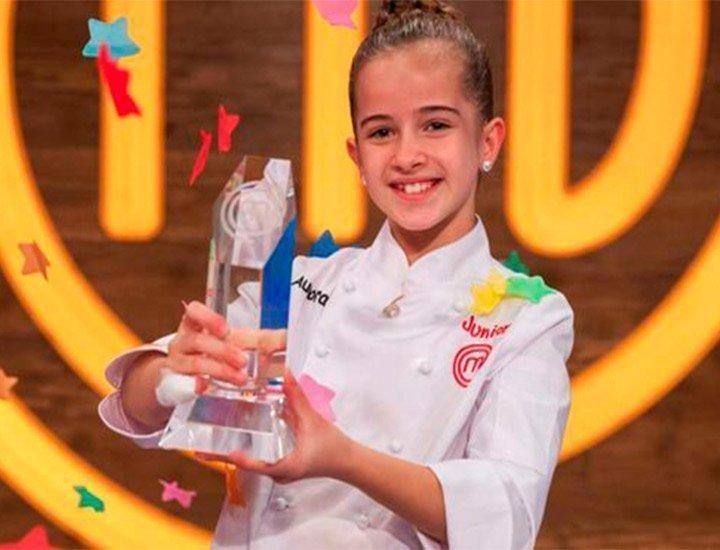 Aurora ganadora MasterChef Junior 8