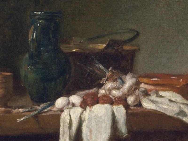 Bodegon de Chardin - Museo Thyssen Madrid