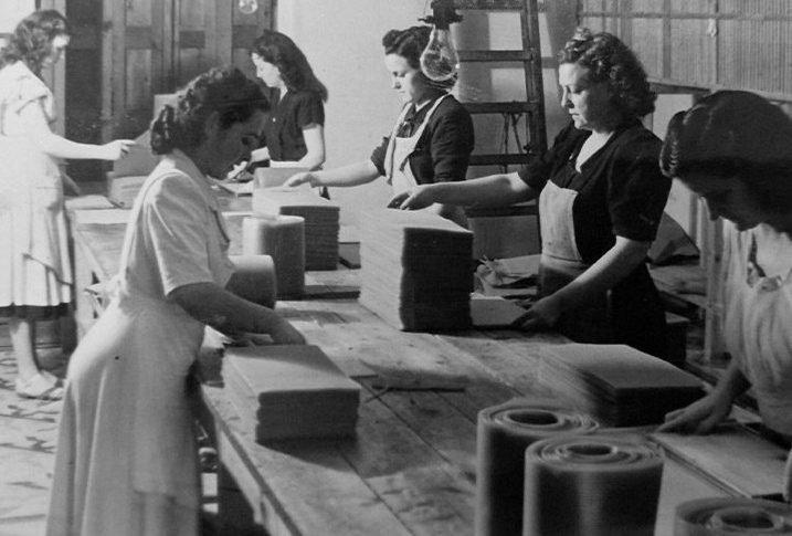 Antigua fábrica de láminas de cera