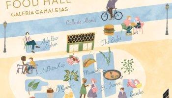 Food Hall de Galería Canalejas - Plano Ilustrado