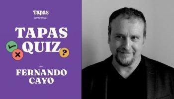 Tapas Quiz: examen gastronómico a Fernando Cayo