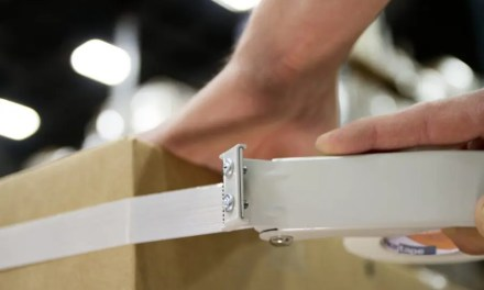 How are packaging tape and strapping tape used in abatement jobs?