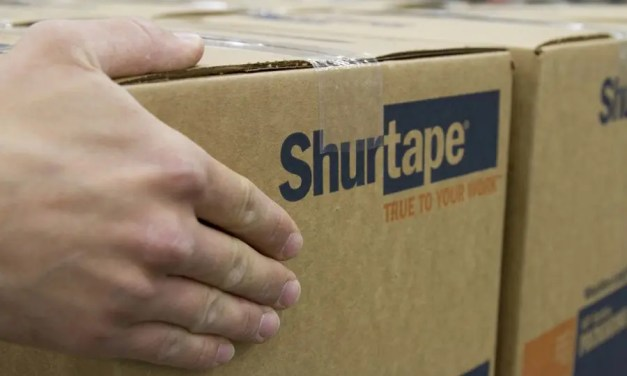 How should packaging tape be stored?