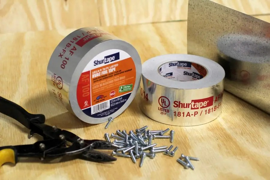 5 Tapes Every HVAC Contractor Needs in their Toolbox