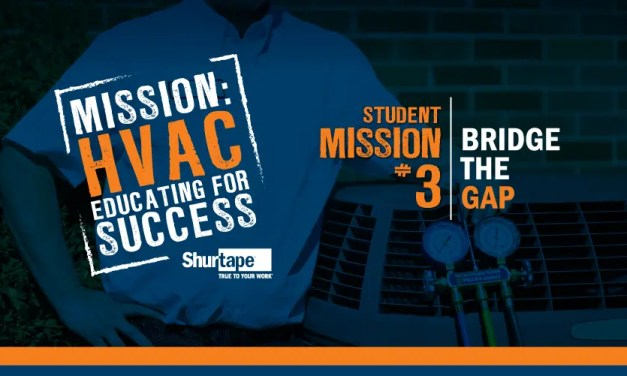 Mission: HVAC 2019 – Mission Three: Bridge the Gap