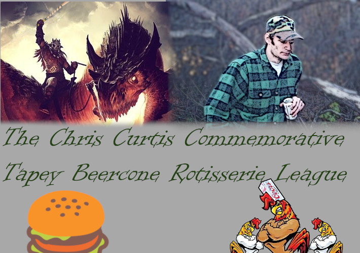 CCC TBC Rotisserie League Update & Mid Season Beerpope Trade Window