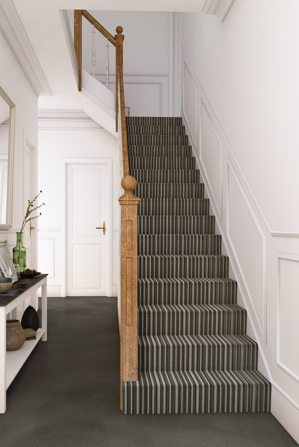 Stair Carpet Tapi Carpets Floors   Patterned Carpet For Stairs And Landing   Carpeting   Middle Open Concept   Diamond Uk Pattern   Striped Stair Carpet Entrance   Victorian Style