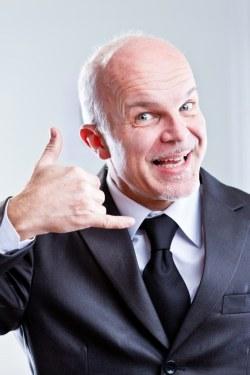 Sleazy Car Salesman - marketing feels sleazy