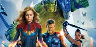 Foto Cena pós-créditos da capitã Marvel quase empatada com Thor: Ragnarok