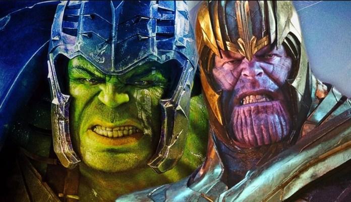 Teorias de Os Vingadores 4 Thanos enviou Hulk para o Ragnarok