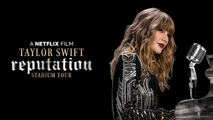 Shows na Netflix para assistir e se sentir no Rock in Rio -   Taylor Swift: Reputation Stadium Tour