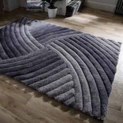 tapis gris pas cher gris clair fonce