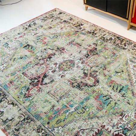 tapis vintage salon enredada