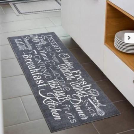 tapis de cuisine lavable en machine miabella breakfast par tapis chic collection