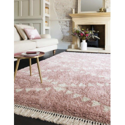 tapis rose poudre tapis aux couleurs