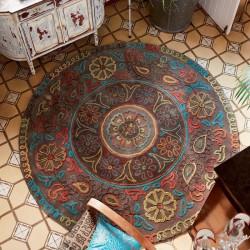 tapis 150 cm tapis rond design